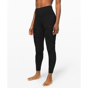Lululemon Wunder Under High-Rise Tight Flocked 28""
